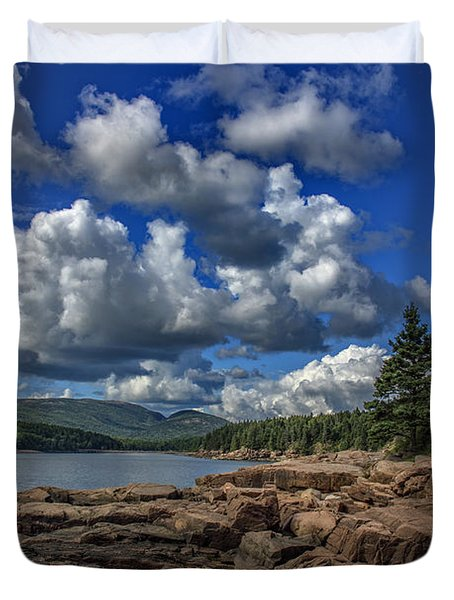 Otter Point Afternoon Duvet Cover
