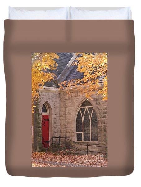 Ottumwa Church Duvet Cover