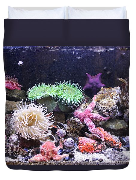 Our Colourful Underwater World Duvet Cover