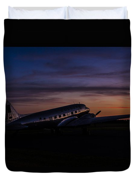 Our Heritage At Sunrise Duvet Cover
