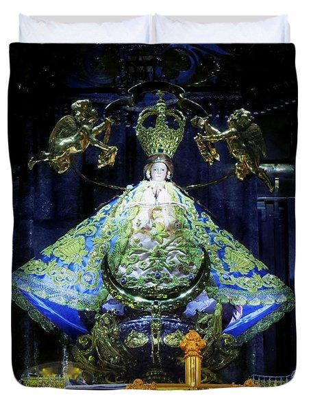 Our Lady Of San Juan De Los Lagos Duvet Cover
