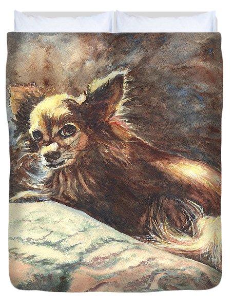 Chihuahua Angel Duvet Cover