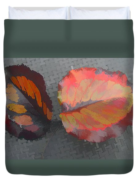 Our Maker's Palette Duvet Cover by Barbara McDevitt