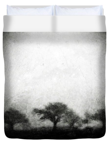 Our Moment In Patience Duvet Cover by Brett Pfister