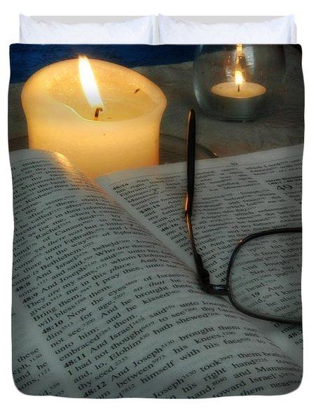 Our Shabbat Duvet Cover