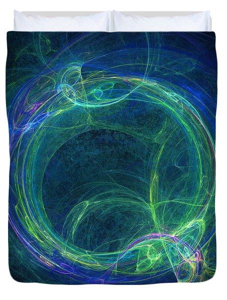 Ouroboros Duvet Cover by Martin Capek