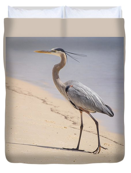 Out For A Stroll Duvet Cover