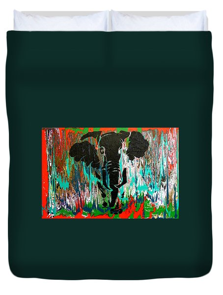 Out Of Africa Duvet Cover