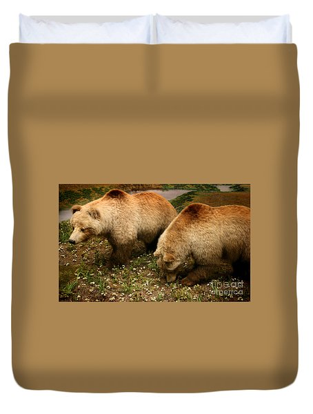 Out Of Hibernation Duvet Cover by David Millenheft