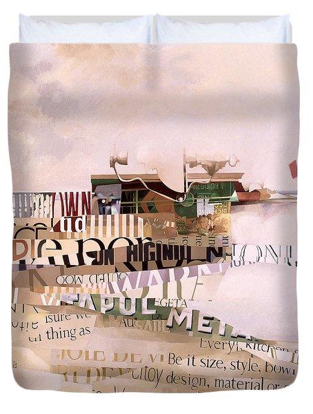 Out Of Season Duvet Cover by Jeremy Annett