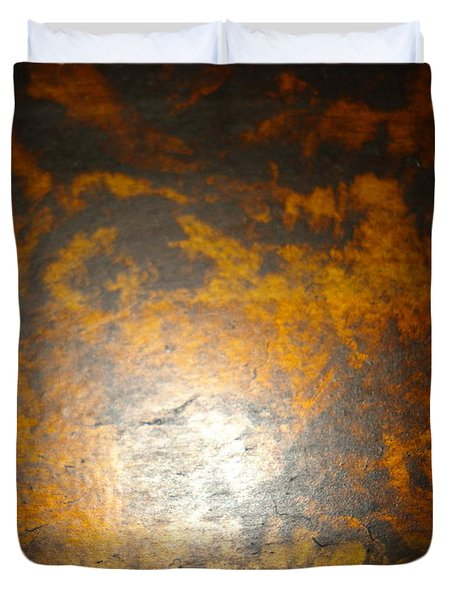 Out Of The Fire Duvet Cover