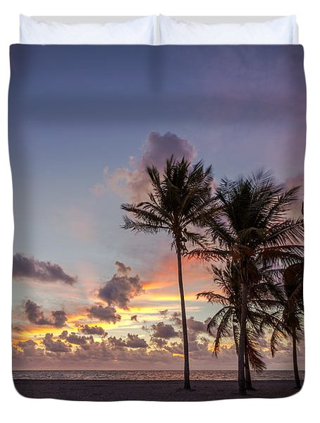 Out Of The Sky Came The Lights Duvet Cover