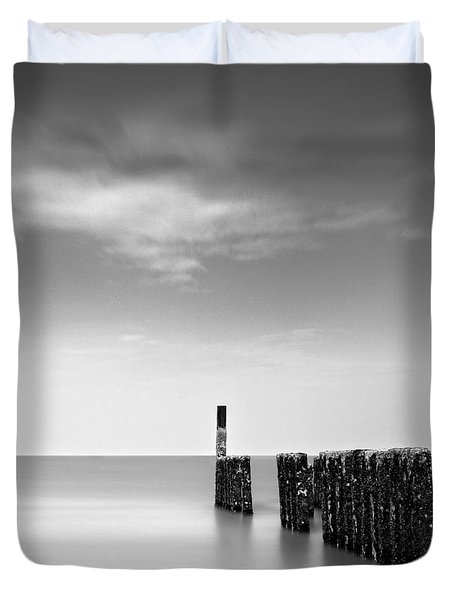 Out To Sea Duvet Cover by Dave Bowman
