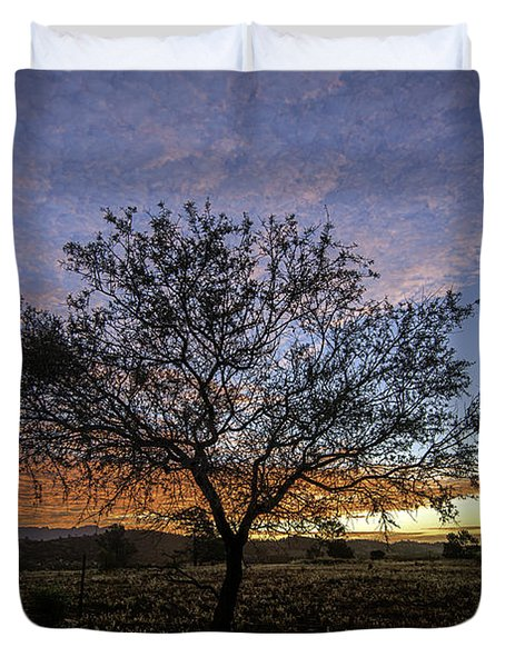 Outback Sunset  Duvet Cover