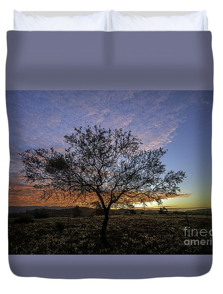 Outback Sunset  Duvet Cover