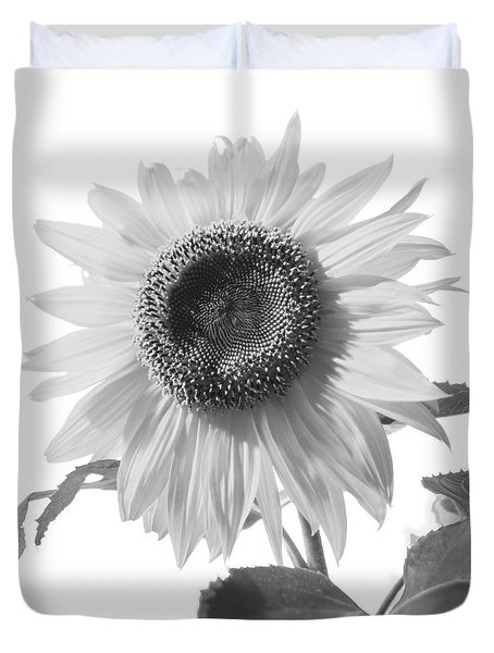 Over Looking The Garden Duvet Cover by Alana Ranney