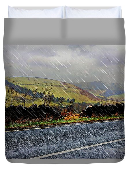 Over The Tops Duvet Cover