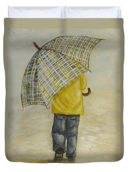 Oversized Umbrella Duvet Cover
