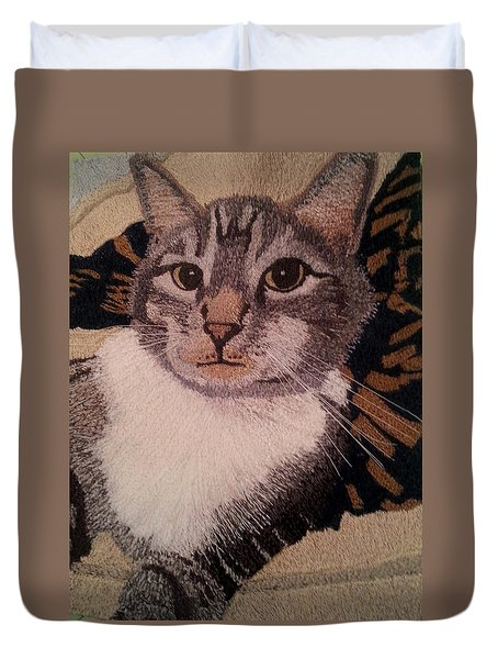 Ovid Duvet Cover by Jenny Williams