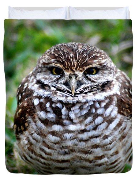 Owl. Best Photo Duvet Cover