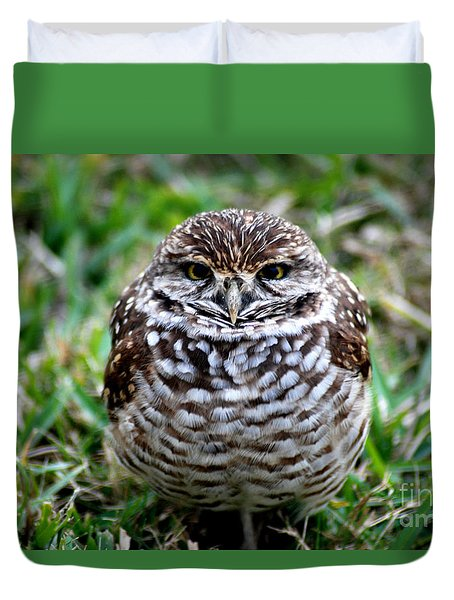 Owl. Best Photo Duvet Cover