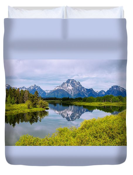 Oxbow Summer Duvet Cover