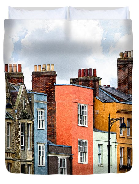 Oxford Medley Duvet Cover
