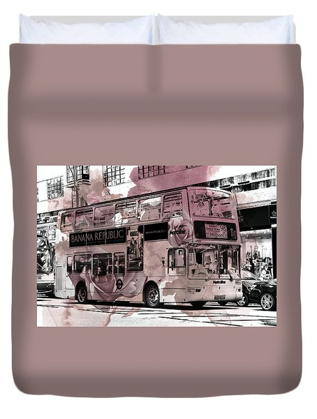 Oxford Street Duvet Cover