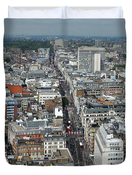 Oxford Street Vertical Duvet Cover