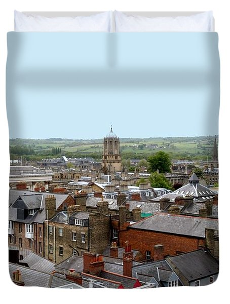 Oxford Town Duvet Cover by Joseph Yarbrough