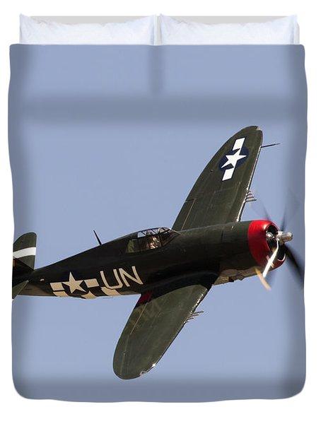 P-47 Thunderbolt Duvet Cover