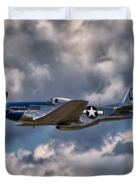 P-51 Mustang Duvet Cover