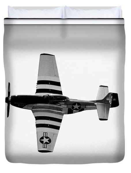 P51 King Of The Skies Duvet Cover