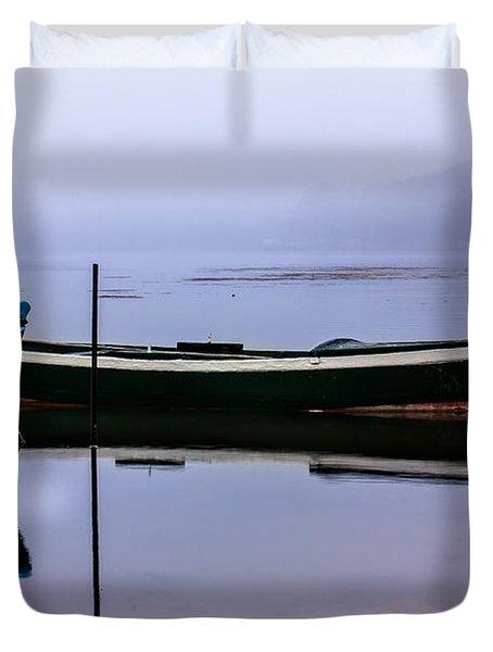 Pacheco Blue Boat Duvet Cover