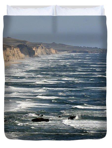 Pacific Coast - Image 001 Duvet Cover
