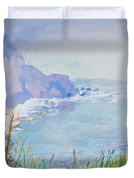 Pacific Coast Duvet Cover