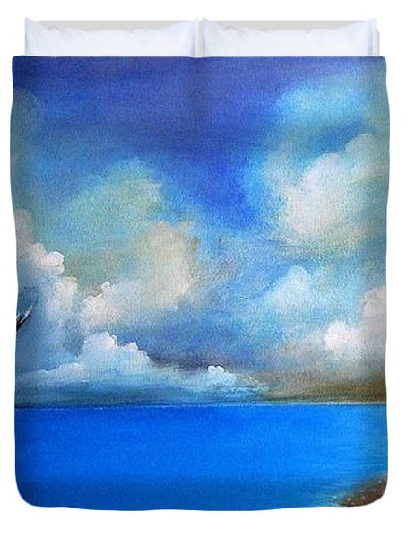 Pacific Highway 1 Duvet Cover