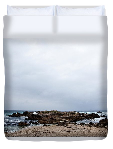 Pacific Horizon Duvet Cover