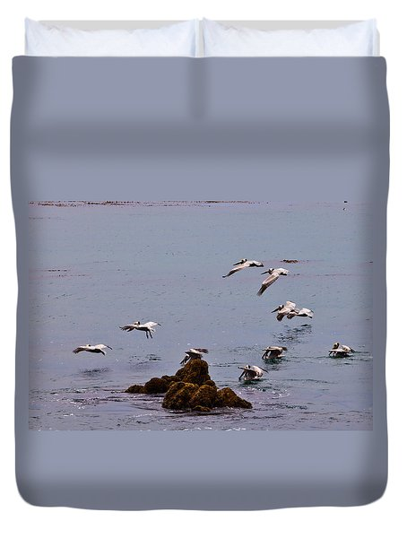 Pacific Landing Duvet Cover