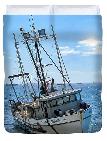 Pacific Maid 2 Duvet Cover