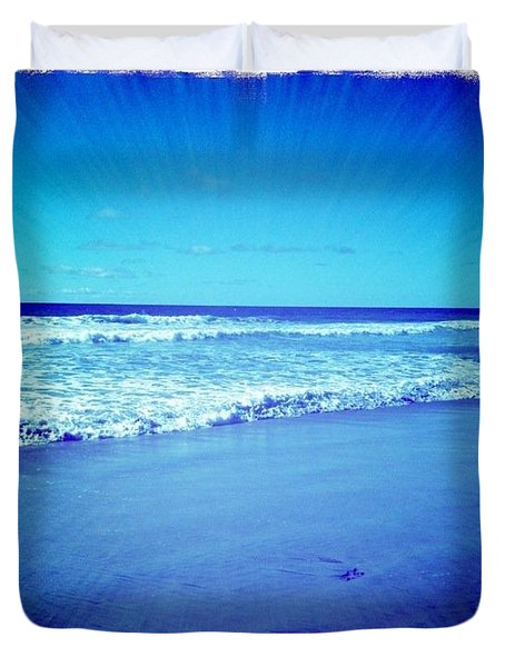 Pacific Rays Duvet Cover