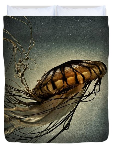 Pacific Sea Nettle Duvet Cover