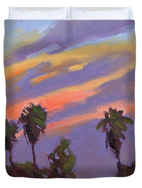 Pacific Sunset 1 Duvet Cover