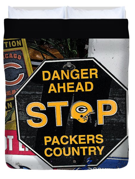 Packers Country Duvet Cover