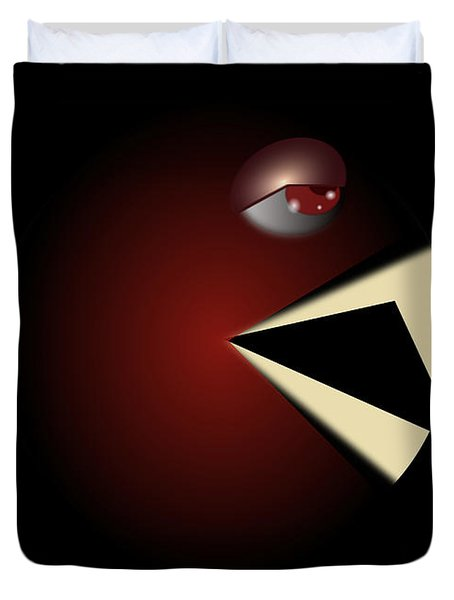 Duvet Cover featuring the digital art Pacula by R Muirhead Art