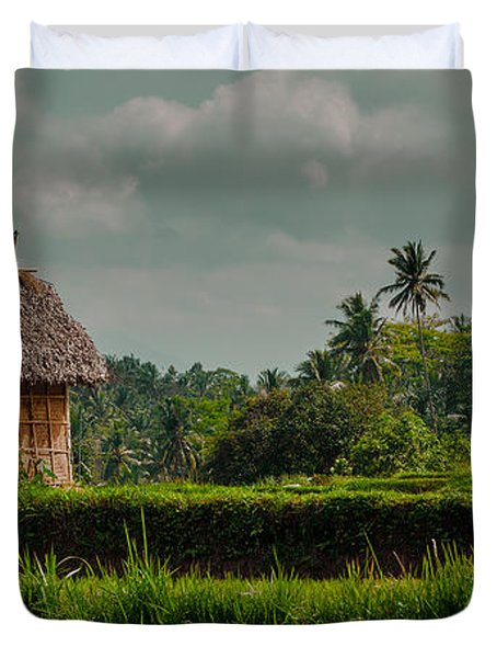 Paddy Fields Duvet Cover
