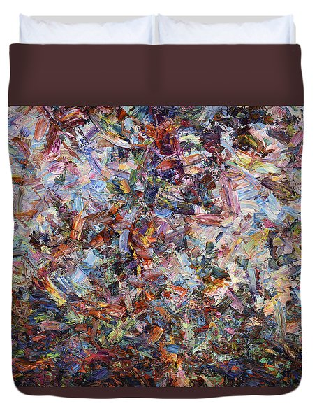 Paint Number 42 Duvet Cover by James W Johnson