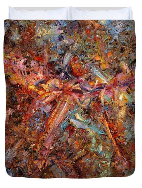 Paint Number 43 Duvet Cover