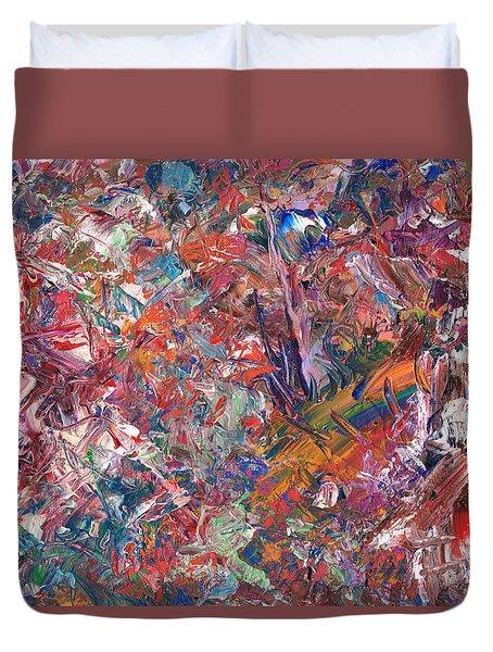 Paint Number 50 Duvet Cover