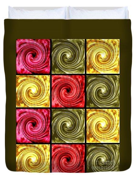 Paint Swirls 3 Duvet Cover